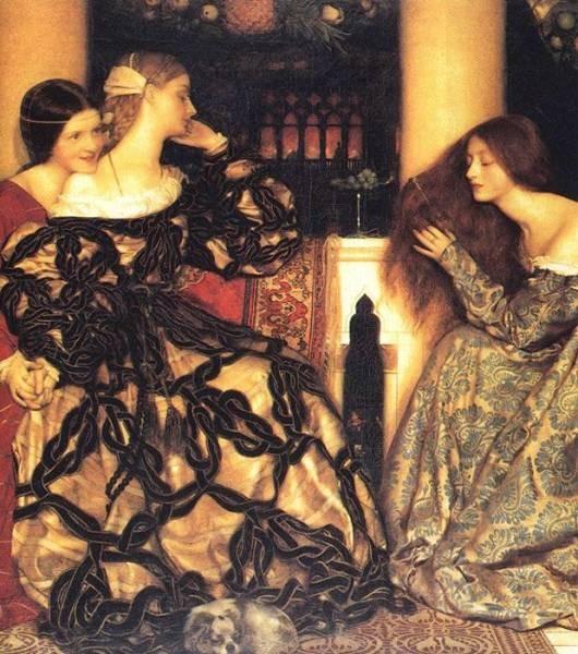 Venetian Ladies Listening to a Serenade